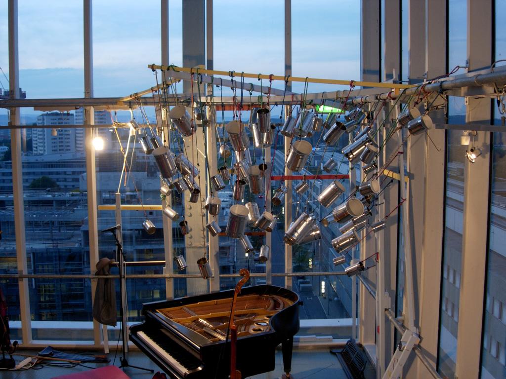 Klangturmimprovisationen. Foto: Claus Faber